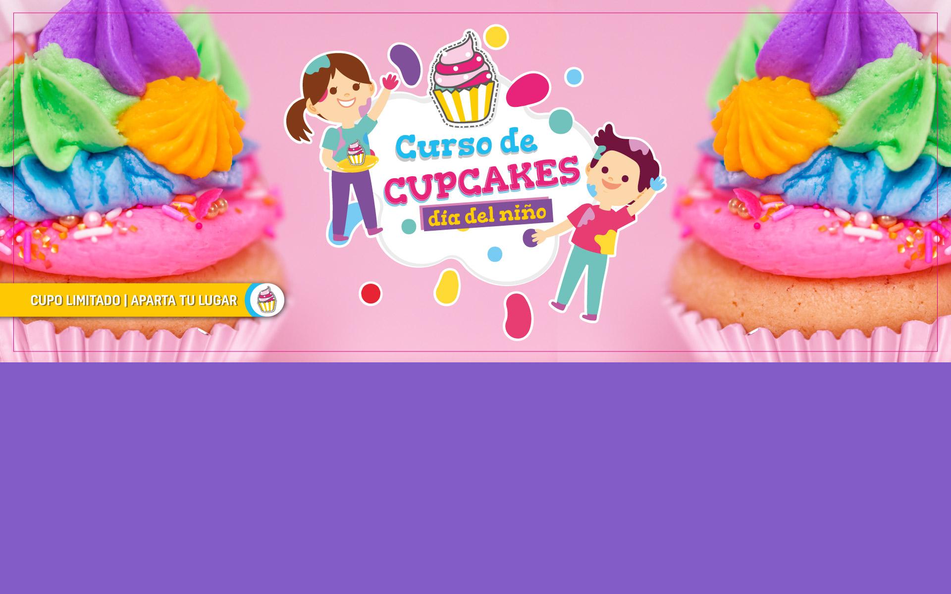 Curso de Cupcakes día del niño